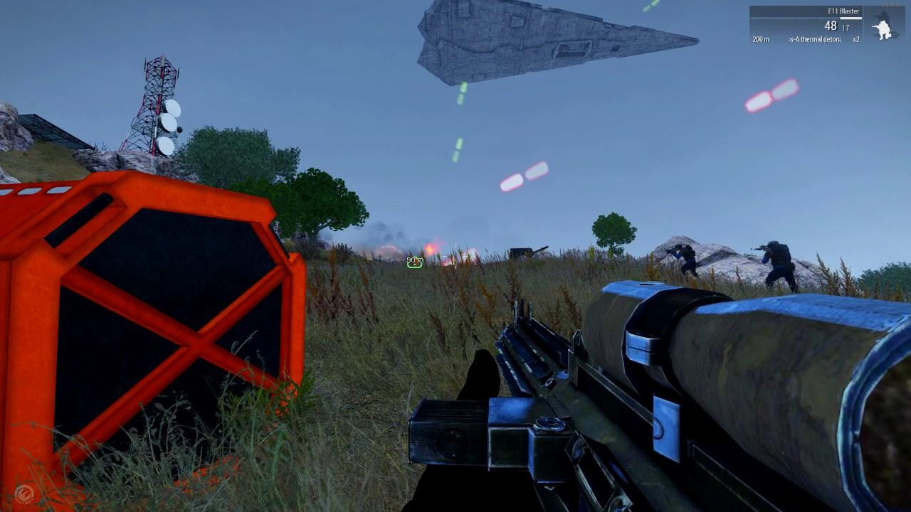 Arma 3 Mission Scripting Ideas: Star Wars Ship Fire Support #1