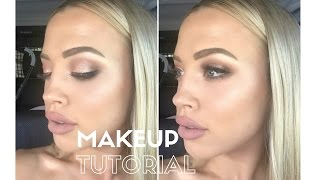 GET READY WITH ME | day-time champagne makeup