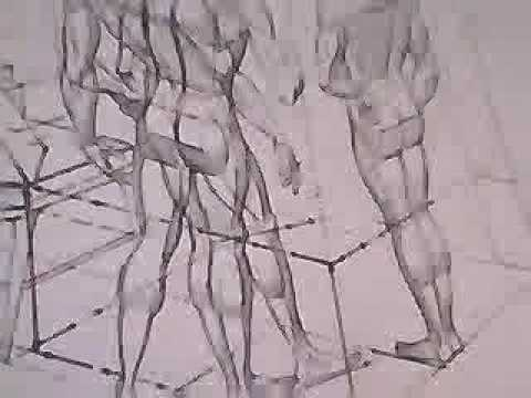 How To Draw The Human Body In Perspective Part 3