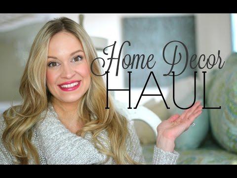 HUGE HOME DECOR HAUL!   Target Dollar Spot, Home Goods, Walmart & Marshalls