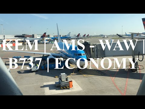 Flight Report | KLM | B737 | Amsterdam To Warsaw | Economy Class + Xtra Flight!