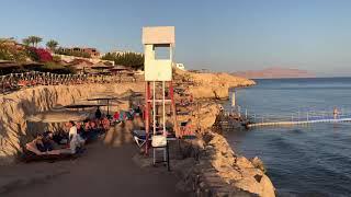 Обзор пляжа при отеле Сива Шарм Отели Шарм Эль Шейха 2021