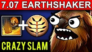 CRAZY EARTHSHAKER - DOTA 2 PATCH 7.07 NEW META PRO GAMEPLAY JOIN TH...