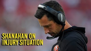 Shanahan on 49ers' injuries and team's performance