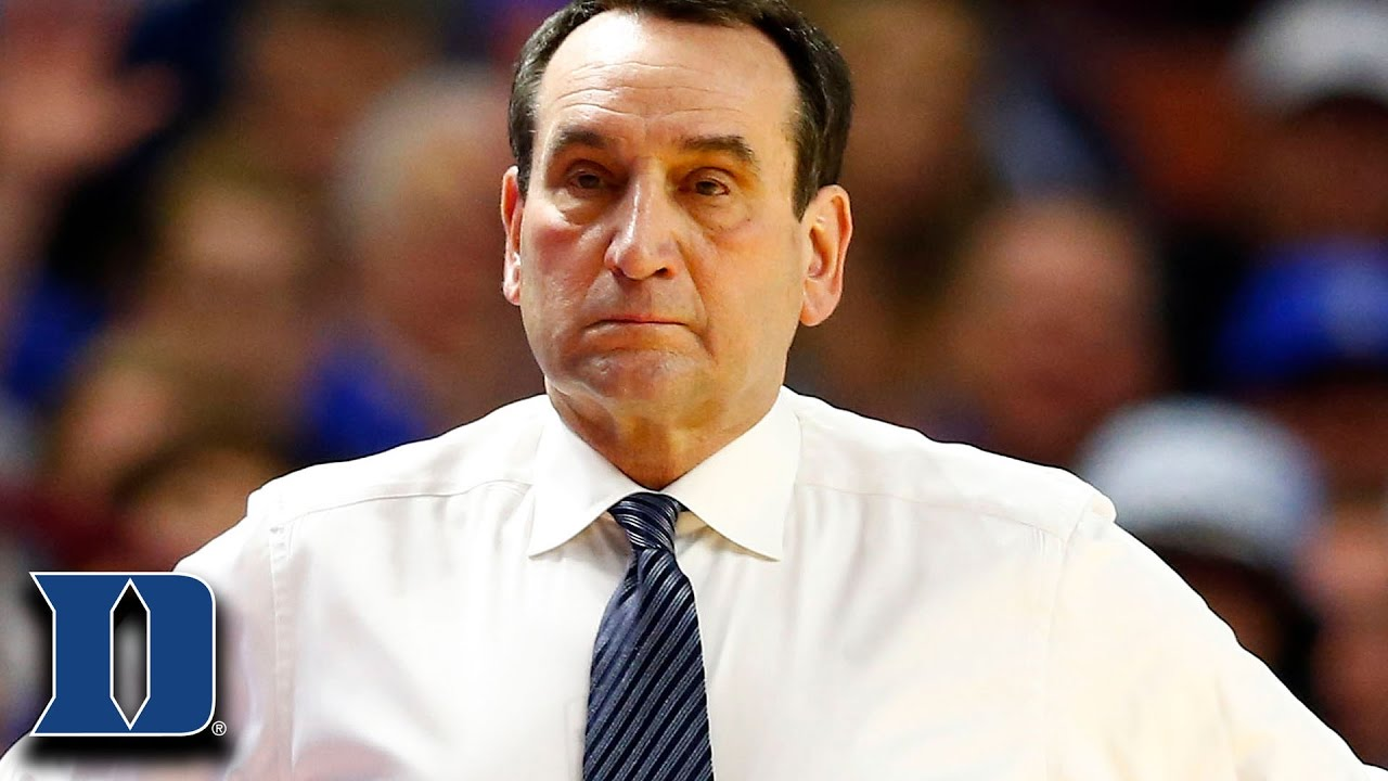 Coach K on Duke Loss to South Carolina in NCAA Tournament ...