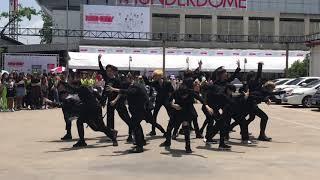 190623 K-Boy cover NCT2018 - Black on Black K-POP in Public @NCT127 WORLD TOUR NEO CITY : BKK