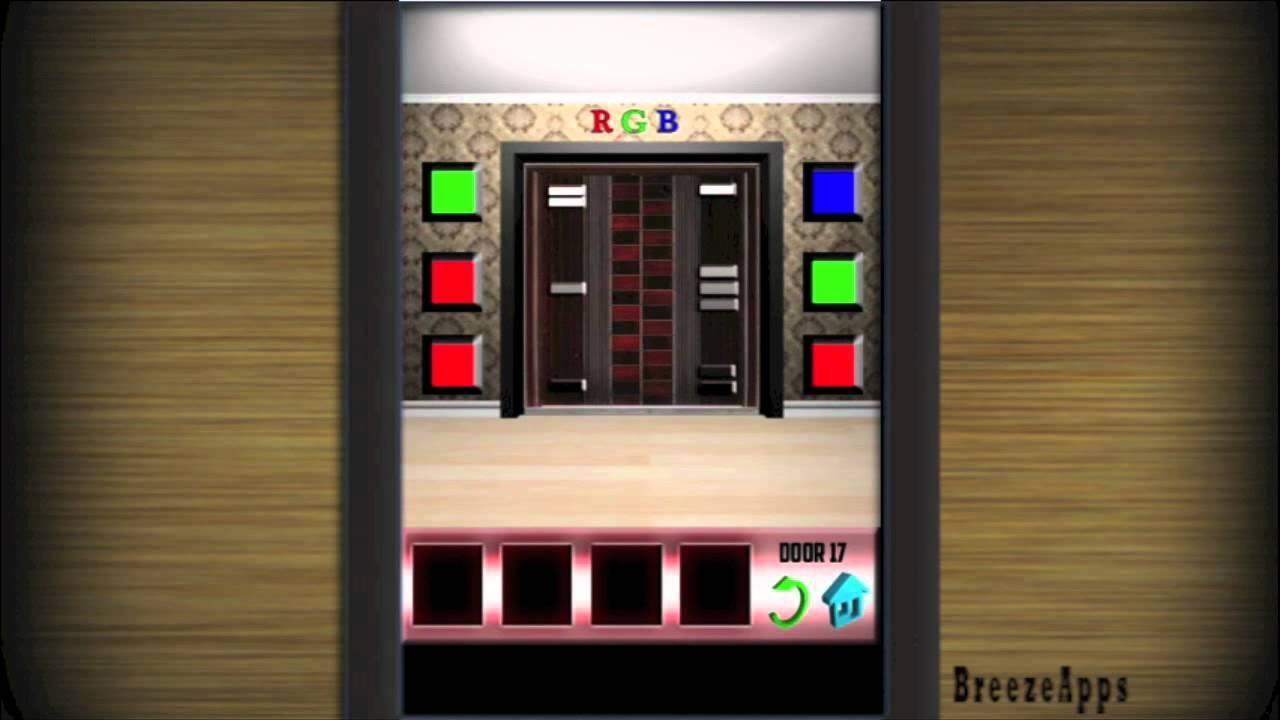 jeu 100 doors solution iphone