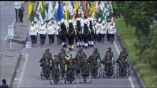 Desfile Militar en conmemoración del Día de la Independencia Nacional - 20 de Julio de 2015