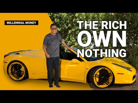 COVER YOUR ASS LIKE THE RICH - ROBERT KIYOSAKI, RICH DAD POOR DAD