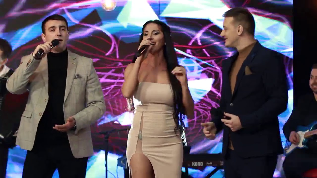 Vlatko Miladinoski, Suzana Gavazova & Damjan Stojanoski - Zeni me mamo (Official Live Video 2021