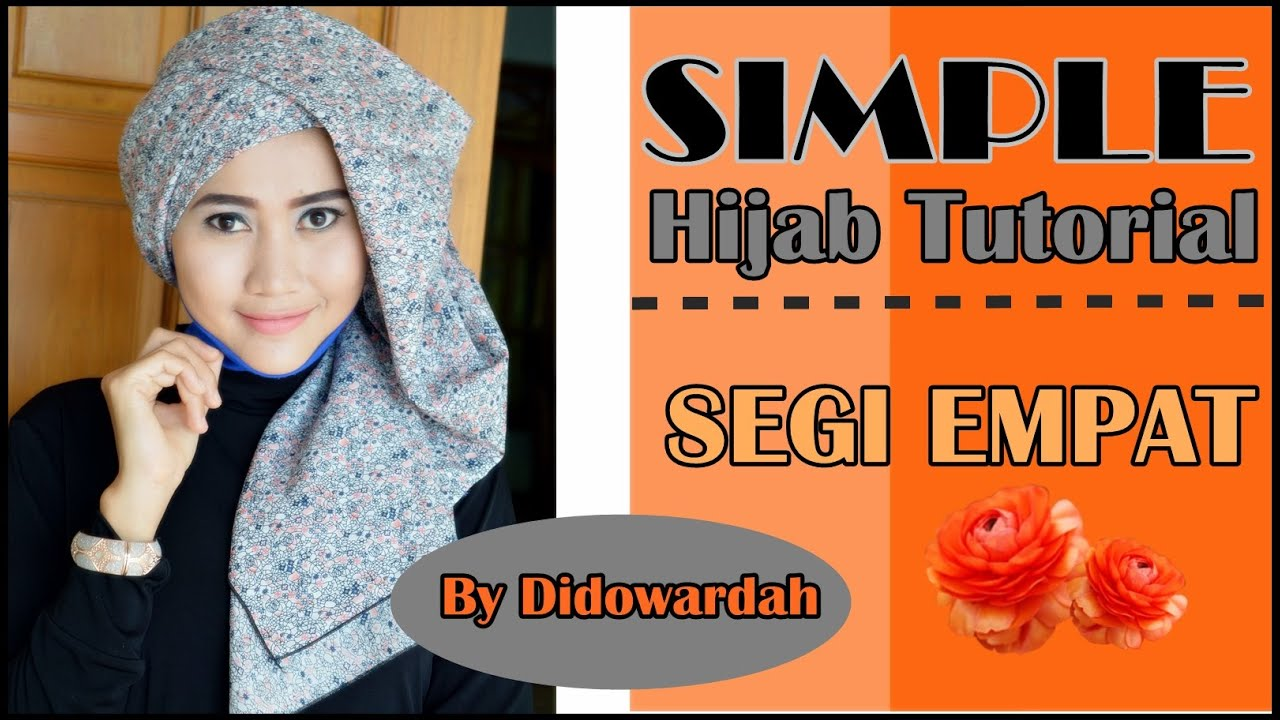 Tutorial Model Jilbab Segi Empat Tutorial Hijab Simple By