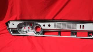 1966-1967 Olds 442 Dash Insert