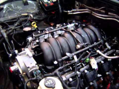 LS6 ENGINE RUNNING