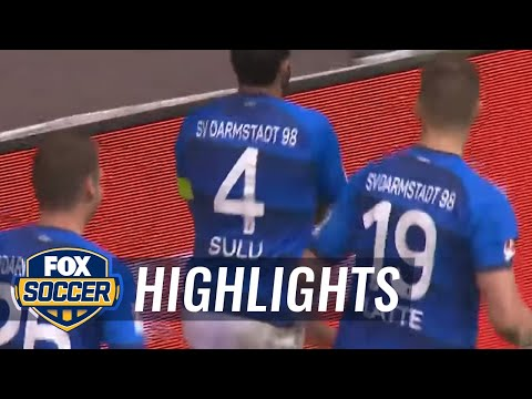 Hamburg vs. Darmstadt​ | 2016-17 Bundesliga Highlights