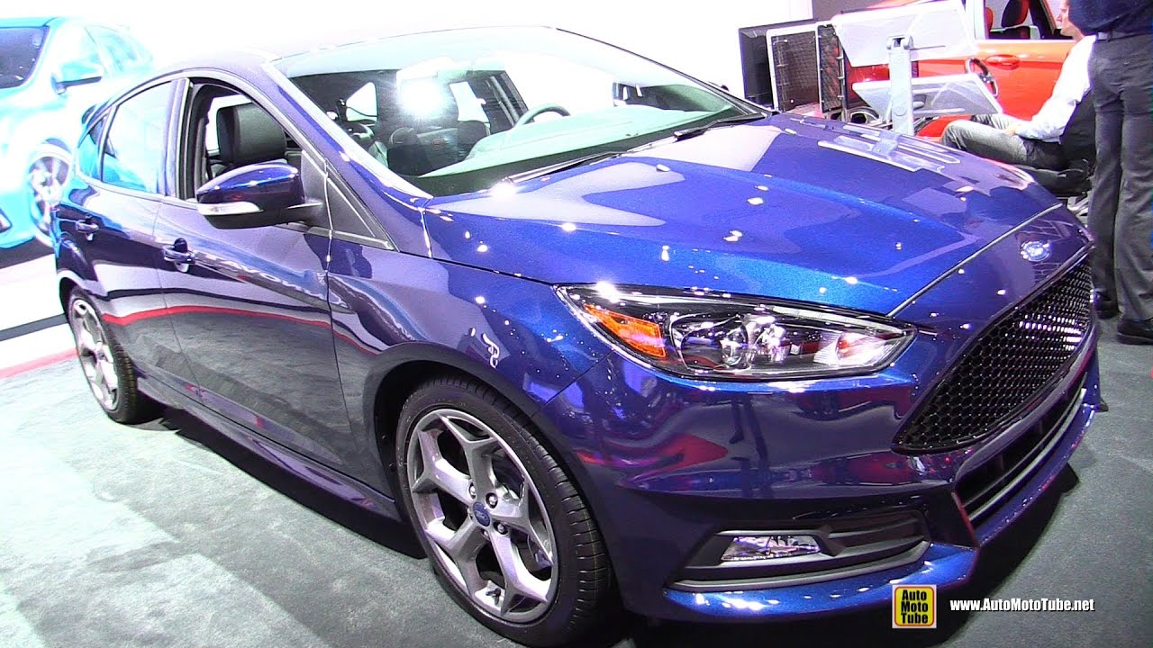 2017 ford focus st exterior and interior walkaround 2016 la auto show youtube. Black Bedroom Furniture Sets. Home Design Ideas