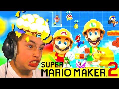 EINDELIJK... SUPER MARIO MAKER 2 !!