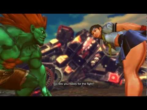 Street Fighter X Tekken - Blanka/Sakura Gameplay