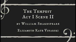 The Tempest Act 1 Scene 2 - Elizabeth Kate Vinarski