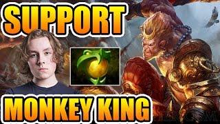 Monkey King Roaming Support By Zai ► Dota 2 7.00
