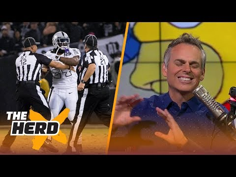 Colin on Marshawn Lynch's objection vs. Chiefs, Packers chances without Rodgers | THE HERD