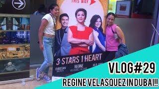 Regine Velasquez Concert in DUBAI | 3 in 1 star |vlog29