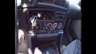 Как разобрать центральную консоль BMW E34(, 2014-05-24T08:09:55.000Z)