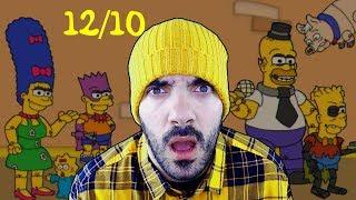 ¡MODO 12/10 IMPOSIBLE!, ¿VENCERÉ? - Fun Times at Homer's *Custom Night* (FNAF FAN GAME)