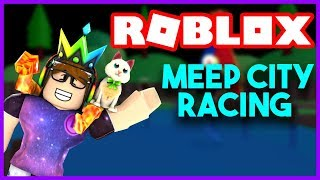 TRYING TO WIN 1ST PLACE! ROBLOX MEEP CITY RACING