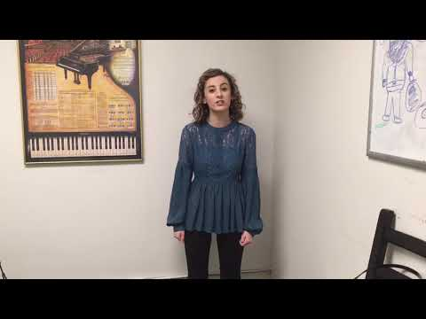 AMDA Audition Video: Carrie Loria Musical Theatre