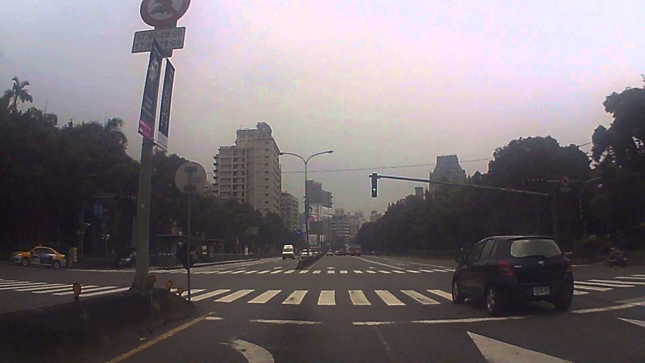 臺北市 新生南路三段 新生南路二段 新生南路一段 路程景 - YouTube