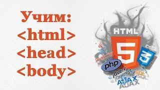 🐘 Курс HTML урок 2 ❱ структура HTML: Doctype, head, body