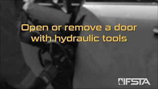 Essentials 7th Edition - Open or remove a door with hydraulic tools
