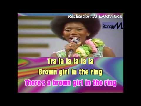 BONEY M   BROWN GIRL IN THE RING I G JJ KARAOKE