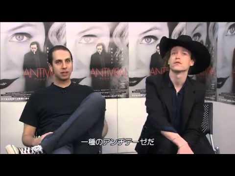 Caleb Landry Jones and Brandon Cronenberg  Japan
