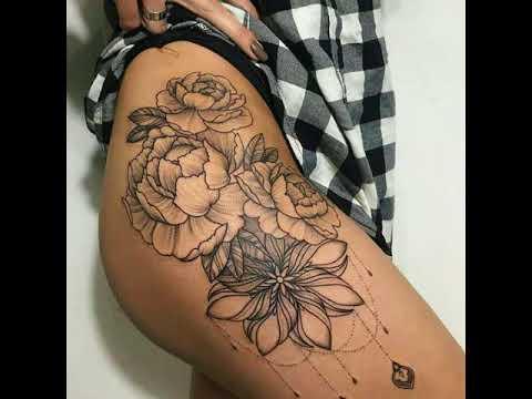 Mejores Tatuajes De Chicas Para La Cadera Youtube