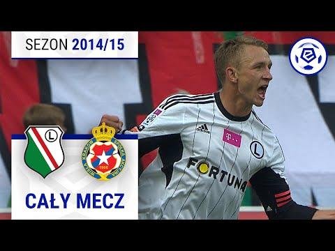 Legia Warszawa - Wisła Kraków [2. połowa] sezon 2014/15 kolejka 35