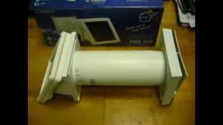 Видеобзор автономный стенной проветриватель с солнечной батареей ВЕНТС ПСС 102