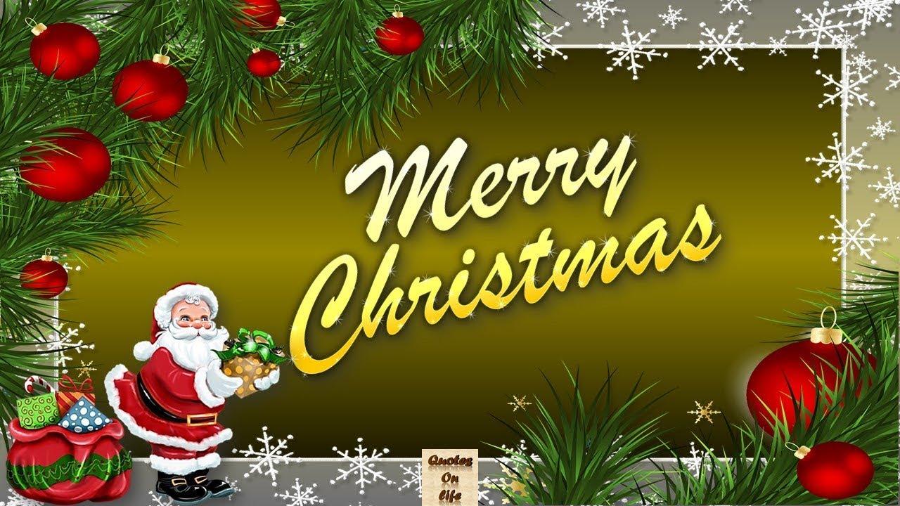 Animated Merry Christmas Greetingsmerry Christmas Animated