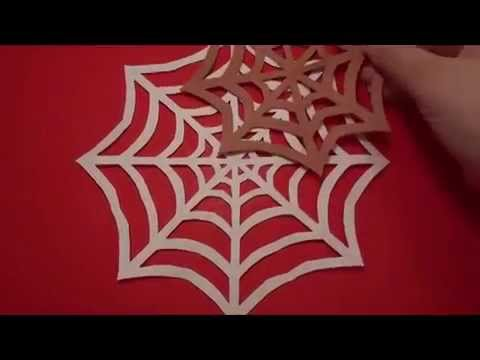 spider web an easy halloween craft for kids youtube