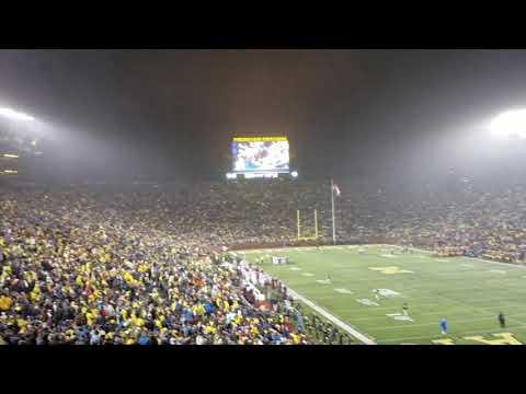 Sweet Caroline at Michigan Stadium