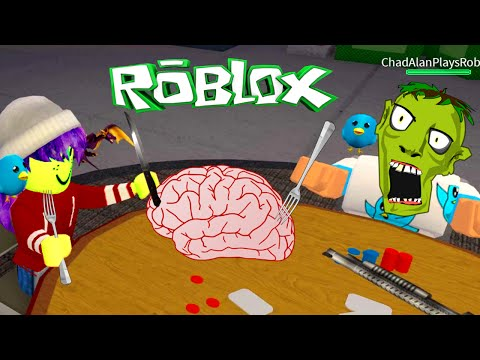 ROBLOX LET'S PLAY ZOMBIE RUSH | RADIOJH GAMES & GAMER CHAD
