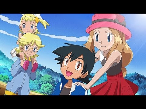 Pokemon theory-Is Ash and Serena Amourshipping gonna end the series?