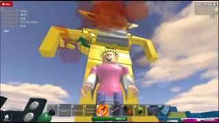 Laa Laa's Chest Explodes! - ROBLOX
