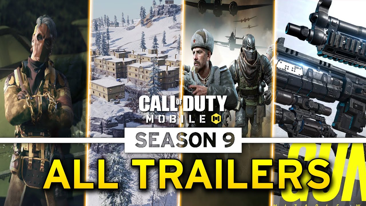 ALL COD MOBILE SEASON 9 TRAILERS - Call of Duty Mobile Season 9 Release Date (CODM S9 ALL LEAKS)