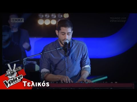 Στέλιος Ιωακείμ -  Siple man | Τελικός | The Voice of Greece