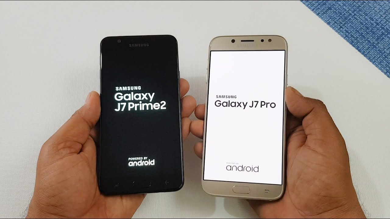 Samsung J7 Prime 2 Vs Samsung J7 Pro Speed Test Comparison Youtube