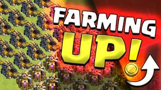 Clash of Clans: THE 100% BEST FARMING RANGE... Search For THE HOLY GRAIL #3
