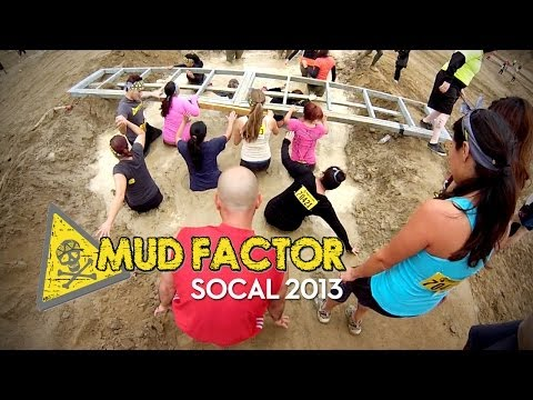 Mud Factor 5K Obstacle Mud Run SOCAL Full Race