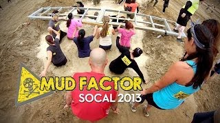 Mud Factor 5K Obstacle Mud Run SOCAL Full Race