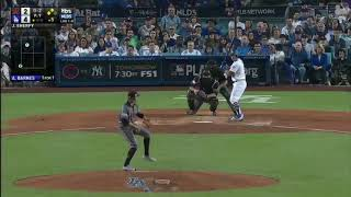 Dodgers Score 4 Runs in the 5th Inning vs Diamondbacks | Dodgers vs Diamondbacks Game 2 NLDS